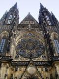 τσεχικό vitus του ST δημοκρατιών της Πράγας καθεδρικών ναών Στοκ εικόνες με δικαίωμα ελεύθερης χρήσης