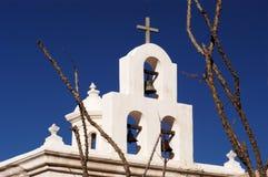 ΤΣΕ del mission SAN Xavier Στοκ φωτογραφία με δικαίωμα ελεύθερης χρήσης