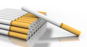 τσιγάρα πεσμένο ένα Στοκ Φωτογραφίες
