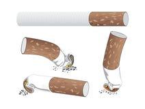 Τσιγάρα διανυσματική απεικόνιση