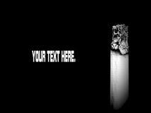 τσιγάρο αποκορεσμένο στοκ φωτογραφία