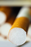 Τσιγάρο από το κιβώτιο Στοκ φωτογραφία με δικαίωμα ελεύθερης χρήσης