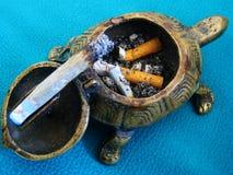 Τσιγάρο εναντίον της μακρο ταπετσαρίας υποβάθρου χελωνών στοκ φωτογραφία με δικαίωμα ελεύθερης χρήσης