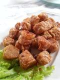 Τσιγαρισμένοι ρόλοι κρέατος καβουριών Στοκ Εικόνες