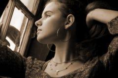 τσιγγάνος κοριτσιών Στοκ Φωτογραφίες