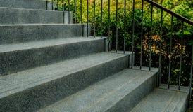 Τσιμέντο με τη μικρή σκάλα αμμοχάλικου Στοκ Φωτογραφία