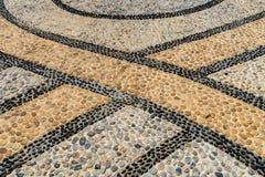 Τσιμέντο με το αμμοχάλικο Στοκ Φωτογραφίες