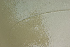 τσιμεντένιο πάτωμα που τοποθετούνται πρόσφατα Στοκ φωτογραφία με δικαίωμα ελεύθερης χρήσης