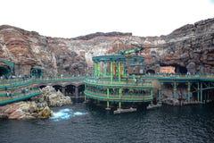 ΤΣΙΜΠΑ, ΙΑΠΩΝΙΑ - ΤΟ ΜΆΙΟ ΤΟΥ 2016: Μυστήρια έλξη νησιών στο Τόκιο Disneysea που βρίσκεται σε Urayasu, Τσίμπα, Ιαπωνία Στοκ Φωτογραφίες