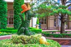 ΤΣΙΜΠΑ, ΙΑΠΩΝΙΑ: Pluto ευπρόσδεκτοι φιλοξενούμενοι στην είσοδο του ξενοδοχείου του Τόκιο Disneyland που βρίσκεται στο θέρετρο του Στοκ εικόνα με δικαίωμα ελεύθερης χρήσης