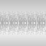 Τσιπ άσπρο γκρι σύστασης techno patern ελεύθερη απεικόνιση δικαιώματος