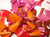 Τσιπ αποβλήτων των διαφορετικών χρωμάτων στοκ φωτογραφία