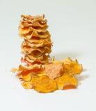 Τσιπ γλυκών πατατών Στοκ Φωτογραφία