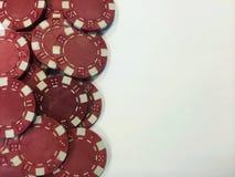 Τσιπ Ι πόκερ Στοκ φωτογραφία με δικαίωμα ελεύθερης χρήσης