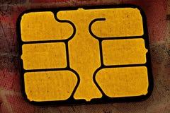 τσιπ καρτών Στοκ Φωτογραφίες