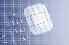 τσιπ καρτών Στοκ φωτογραφία με δικαίωμα ελεύθερης χρήσης
