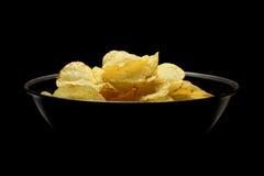 Τσιπ πατατών Στοκ φωτογραφία με δικαίωμα ελεύθερης χρήσης