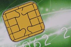 Τσιπ πιστωτικών καρτών Στοκ Εικόνες