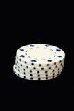 Τσιπ πόκερ Στοκ φωτογραφίες με δικαίωμα ελεύθερης χρήσης