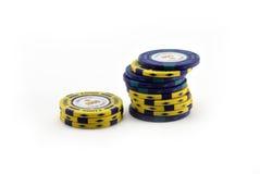 Τσιπ πόκερ Στοκ φωτογραφία με δικαίωμα ελεύθερης χρήσης