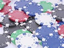 Τσιπ πόκερ Στοκ εικόνα με δικαίωμα ελεύθερης χρήσης
