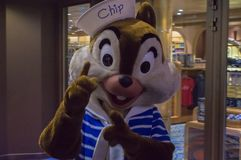 Τσιπ στη Disney μαγική Στοκ φωτογραφίες με δικαίωμα ελεύθερης χρήσης