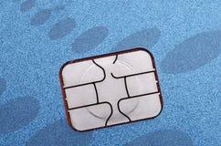 Τσιπ υπολογιστή πιστωτικών καρτών EMV Στοκ εικόνα με δικαίωμα ελεύθερης χρήσης