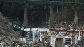Τσουνάμι Ιαπωνία 2011 Φουκουσίμα απόθεμα βίντεο