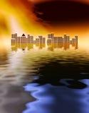 τσουνάμι Στοκ Εικόνες