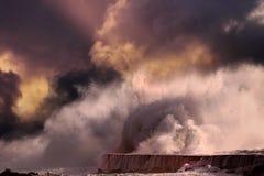 τσουνάμι Στοκ φωτογραφίες με δικαίωμα ελεύθερης χρήσης