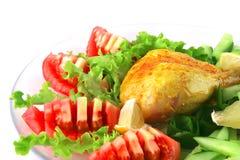 τυμπανόξυλο κοτόπουλο&ups Στοκ εικόνα με δικαίωμα ελεύθερης χρήσης