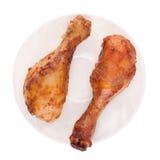 Τυμπανόξυλα κοτόπουλου Στοκ Φωτογραφία