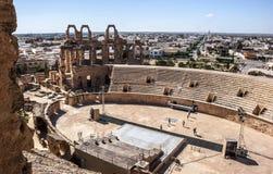 Τυνησία, ρωμαϊκό θέατρο Στοκ φωτογραφία με δικαίωμα ελεύθερης χρήσης