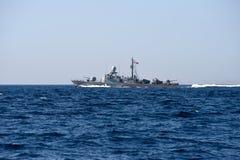 Τυνησιακό στρατιωτικό σκάφος στοκ φωτογραφία