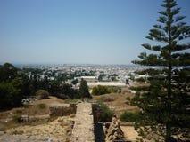 Τυνησιακό τοπίο Στοκ φωτογραφία με δικαίωμα ελεύθερης χρήσης