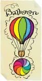 τυπογραφία μπαλονιών Στοκ φωτογραφία με δικαίωμα ελεύθερης χρήσης
