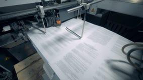 Τυπογραφικές εργασίες μεταφορέων με το τυπωμένο έγγραφο με το κείμενο φιλμ μικρού μήκους