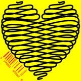 Τυποποιημένη καρδιά για την πώληση Στοκ φωτογραφίες με δικαίωμα ελεύθερης χρήσης