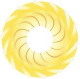 Τυποποιημένος ήλιος διανυσματική απεικόνιση