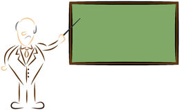 τυποποιημένος δάσκαλο&sigma απεικόνιση αποθεμάτων