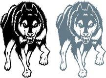 τυποποιημένος λύκος ελεύθερη απεικόνιση δικαιώματος