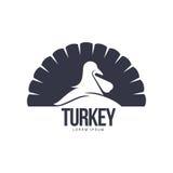 Τυποποιημένο απλουστευμένο της Τουρκίας πρότυπο λογότυπων σκιαγραφιών γραφικό διανυσματική απεικόνιση
