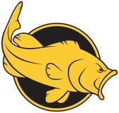 Τυποποιημένο βαθύ λογότυπο Στοκ Εικόνες