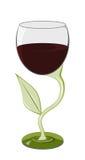 τυποποιημένο κρασί γυαλ Στοκ φωτογραφίες με δικαίωμα ελεύθερης χρήσης