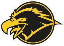 Τυποποιημένο λογότυπο αετών στοκ φωτογραφία