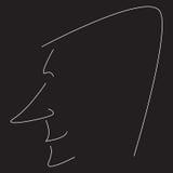 Τυποποιημένο σχεδιάγραμμα ατόμων Στοκ Φωτογραφία