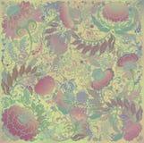 Τυποποιημένο floral σχέδιο άνοιξη, υπόβαθρο υφάσματος Στοκ φωτογραφία με δικαίωμα ελεύθερης χρήσης