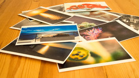 Τυπωμένες εικόνες Στοκ φωτογραφία με δικαίωμα ελεύθερης χρήσης
