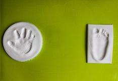Τυπωμένες ύλες μωρών Στοκ εικόνες με δικαίωμα ελεύθερης χρήσης