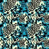 Τυπωμένη ύλη μπλουζών, ξηρό βουρτσών σύνθημα καλλιγραφίας μελανιού καλλιτεχνικό σύγχρονο Στοκ Φωτογραφία